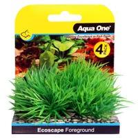 Aqua One Ecoscape Foreground Hair Grass Green - 4pk