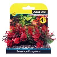 Aqua One Ecoscape Foreground Catspaw Red - 4pk