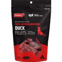 Prime100 Single Protein Duck Fillet Dog Treat - 100g