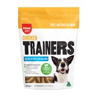 Prime100 Chicken Trainers Chilled Dog Treats - 200g