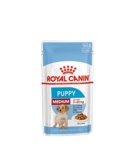 Royal Canin Medium Puppy Wet Dog Food 140g